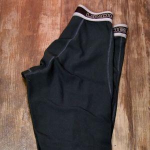 Medium Green Under Armour Compression Pants
